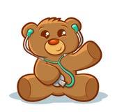 Доктор плюшевого медвежонка Стоковые Фото
