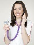 Доктор с стетоскопом Стоковые Изображения