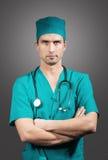 Доктор с стетоскопом Стоковая Фотография