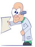 Доктор шаржа Стоковое фото RF