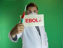 Доктор Ebola Стоковые Изображения