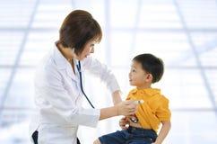доктор s детей Стоковое Изображение RF