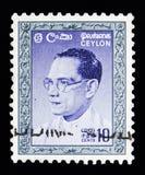 Доктор Solomon Запад Ridgeway Dias Bandaranaike (1899-1959), первичный Стоковые Фотографии RF