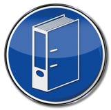 Документы и архив Стоковое Изображение RF