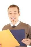 документы укомплектовывают личным составом усмехаться Стоковые Изображения RF