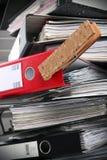 документы 1 важные стоковое изображение