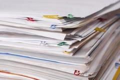 документы стоковое изображение
