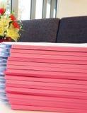 Документ и отчет Стоковое Фото