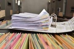 Документ стога стоковые изображения