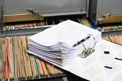 Документ стога стоковые фотографии rf