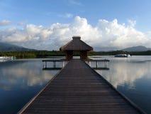 Док Бали на Ява Стоковые Фото