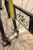 Док велосипеда Стоковое фото RF