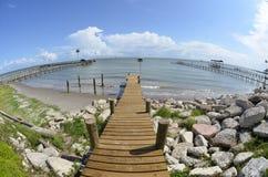 Док залива Стоковая Фотография
