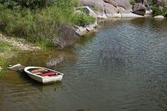 Док каное Стоковая Фотография
