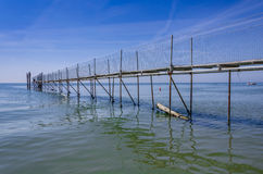 Док на море Стоковое фото RF