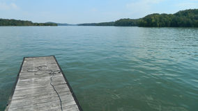 Док на озере TN Стоковая Фотография