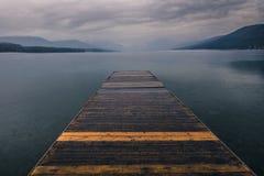 Док озера Стоковое фото RF