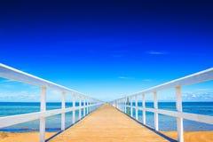 Док океана Стоковые Фотографии RF