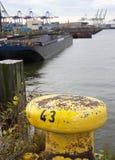 Док 43-Hamburg-Germany стоковые изображения