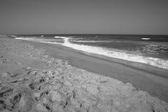 Долгая выдержка Нью-Джерси пляжа крюка Sandy Стоковое Фото
