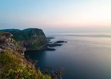 Долгая выдержка скал Shiodawara стоковые фотографии rf