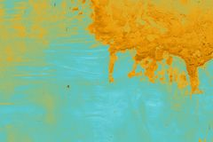 Должная предпосылка влияния тона с пятнами краски Стоковая Фотография RF