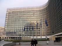 должностное лицо европейца 5 комиссий стоковое фото