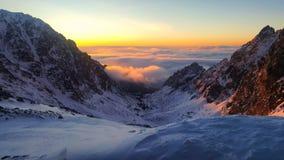 Долина ¡ Studenà ¡ Malà - восточная сторона высокого Tatras Стоковые Изображения RF