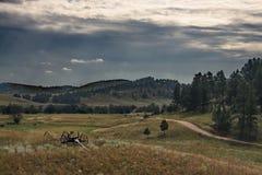 долина Блачк Юиллс Стоковое Изображение RF