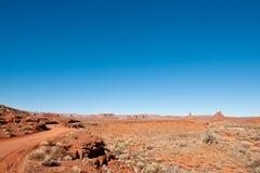 долина богов пустыни Стоковая Фотография