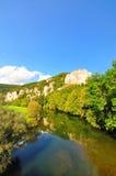 долина верхушкы danube Стоковые Фотографии RF