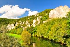 долина верхушкы danube Стоковое фото RF