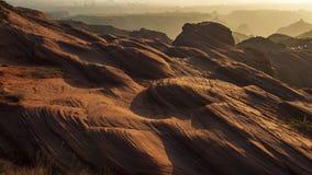 Долина волны Jingbian стоковое фото rf