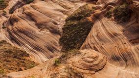 Долина волны Jingbian стоковое изображение rf