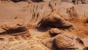 Долина волны Jingbian стоковое изображение
