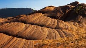 Долина волны Jingbian стоковая фотография rf