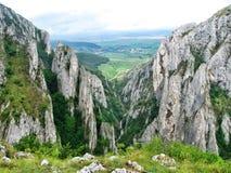 Долина в Turda, Transsylvania, Румынии стоковая фотография