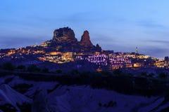 Долина голубя во время времени захода солнца Стоковые Фотографии RF