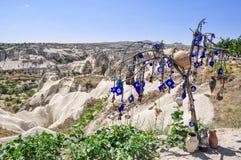 Долина голубя в Cappadocia, Турции Стоковые Изображения