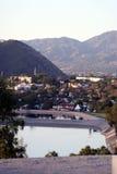 долина городка озера Стоковые Изображения