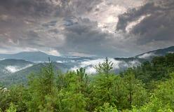 долина горы ландшафта Стоковое Изображение