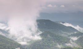 долина горы ландшафта Стоковые Фотографии RF