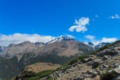 долина горы утесистая Стоковые Изображения