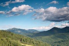 долина горы Стоковые Изображения