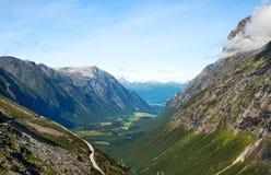 долина горы Стоковое Изображение
