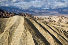 долина гор смерти Стоковое Изображение