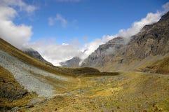 долина гор Стоковые Фото