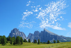 долина гор Стоковые Изображения