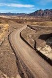 долина грязной улицы смерти Стоковая Фотография RF