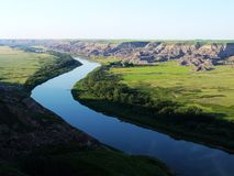 долина динозавра Стоковые Фото